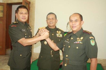 Salam Komando Danrem 064/MY bersama Pangdam III/Slw